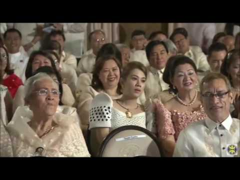 Philippine President Duterte  Inauguration Part 1