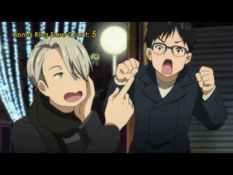 Every blessed time the Victuuri Rings show up on Yuri On Ice