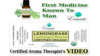 Lemongrass Essential Oil - USDA Certified Essential Oils From Essante Organics