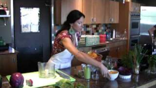Thrive Raw Food Demo Fiesta Tacos prepared by Melissa Martinez Part 1.mp4