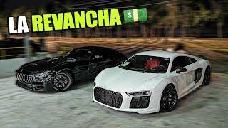 REVANCHA AUDI R8 VS MERCEDES AMG GT Y LAMBORGHINI AVENTADOR SV    ALFREDO VALENZUELA