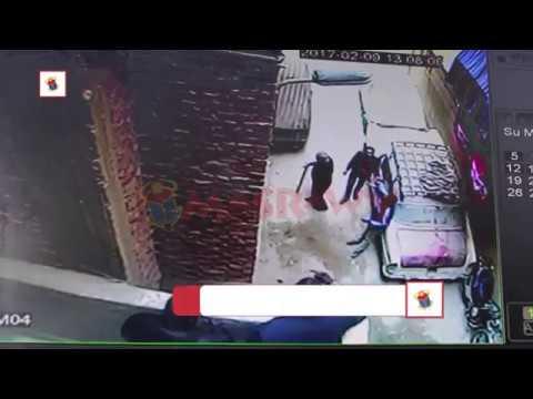 كاميرات المراقبة ترصد