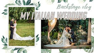 BACKSTAGE WEDDING VLOG ❤️ | Laura Ponticorvo