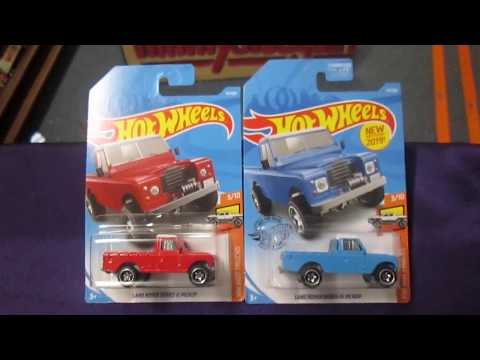 LAND ROVER Series III Pickup Truck unboxing and rip and race TOY TRUCKS