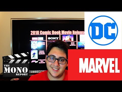 Superhero Films of 2018 Preview - The Mono Report