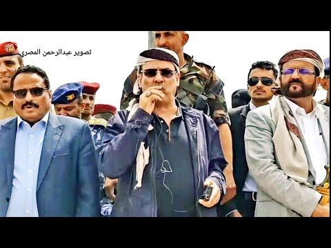 كلمة وزير الداخلية بمعسكر قوات الامن الخاصة بمأرب اليمن