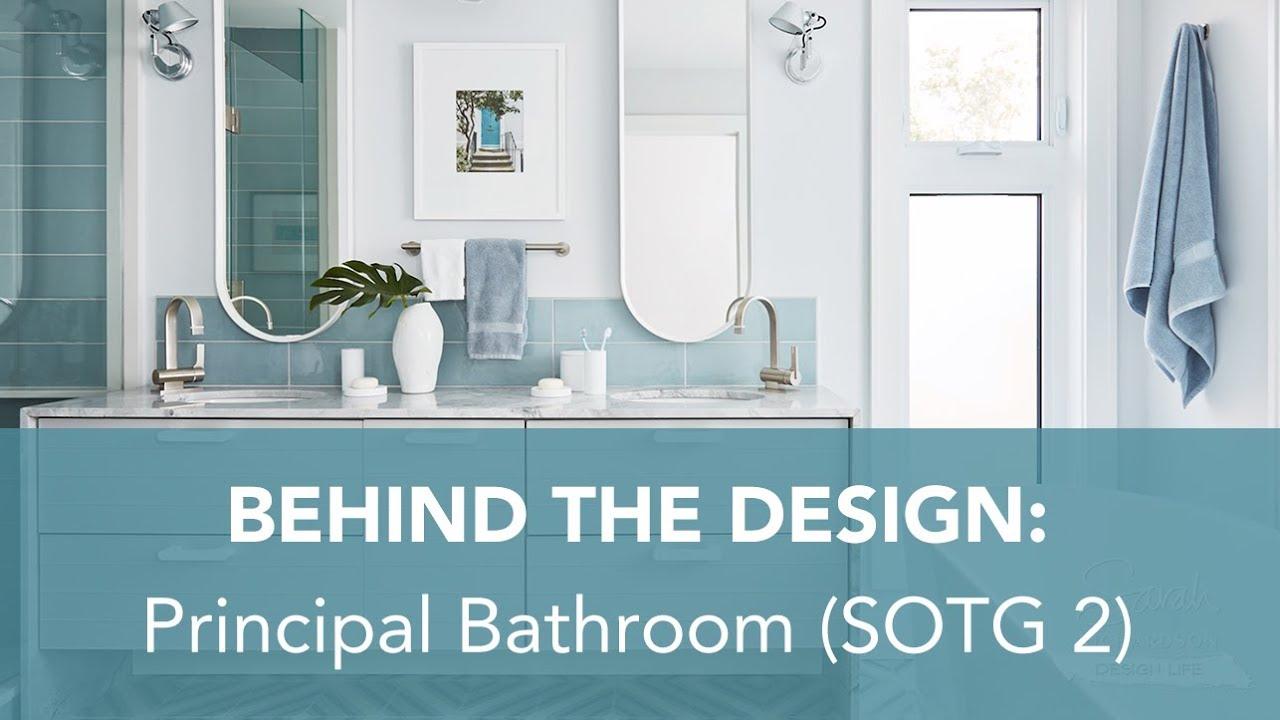 Sarah Richardson Off The Grid behind the design: principal bathroom (sarah off the grid, s2)