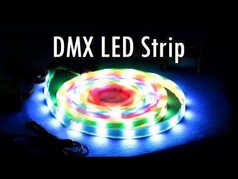 Simple DMX LED Strip Installation - YouTube