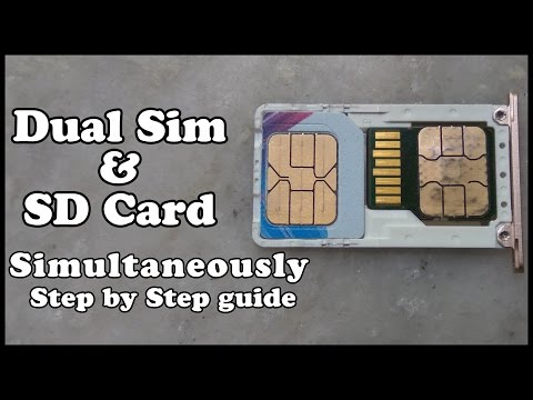 Dual Sim & SD Card Simultaneously On Xiaomi Redmi Note 3  Step By Step Guide