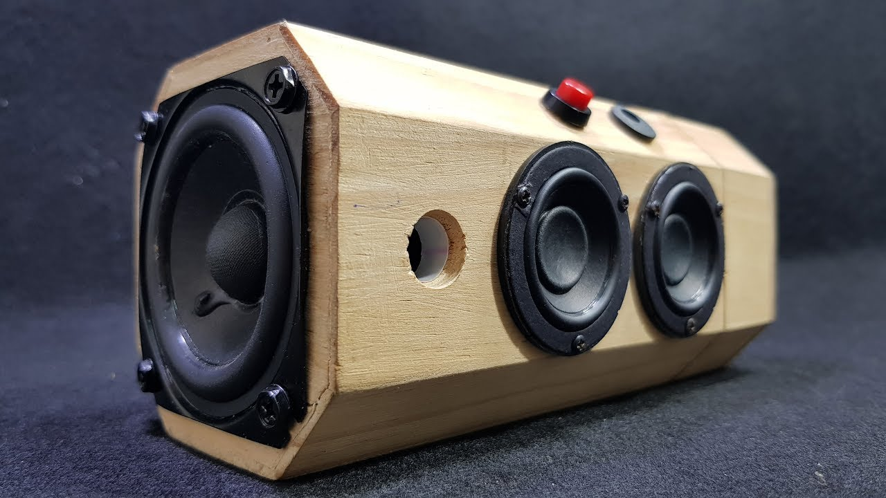 Box Bluetooth Building Bluetooth Speaker With Wooden Tea Box