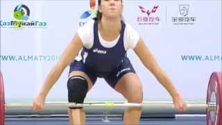 Women 53KG B Snatch 2014 World Weightlifting Championships