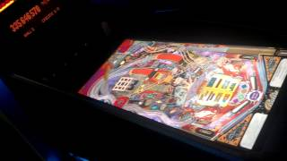 Virtual pinball machine play