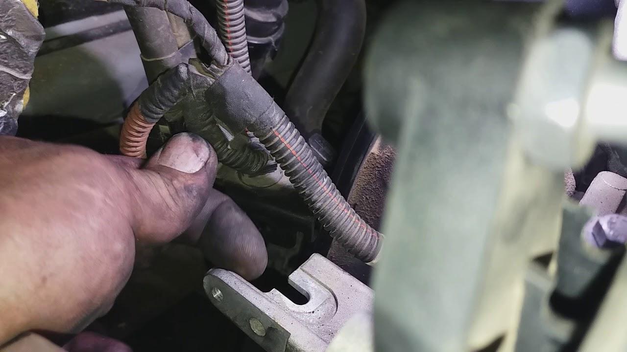 Peugeot 406 2.0 variante 16V 1 genuine cambiare capteur de cliquetis