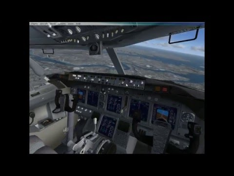 MICROSOFT FLIGHT SIMULATOR X KLGA - KORD QUICK FLIGHT COPILOT VERSION