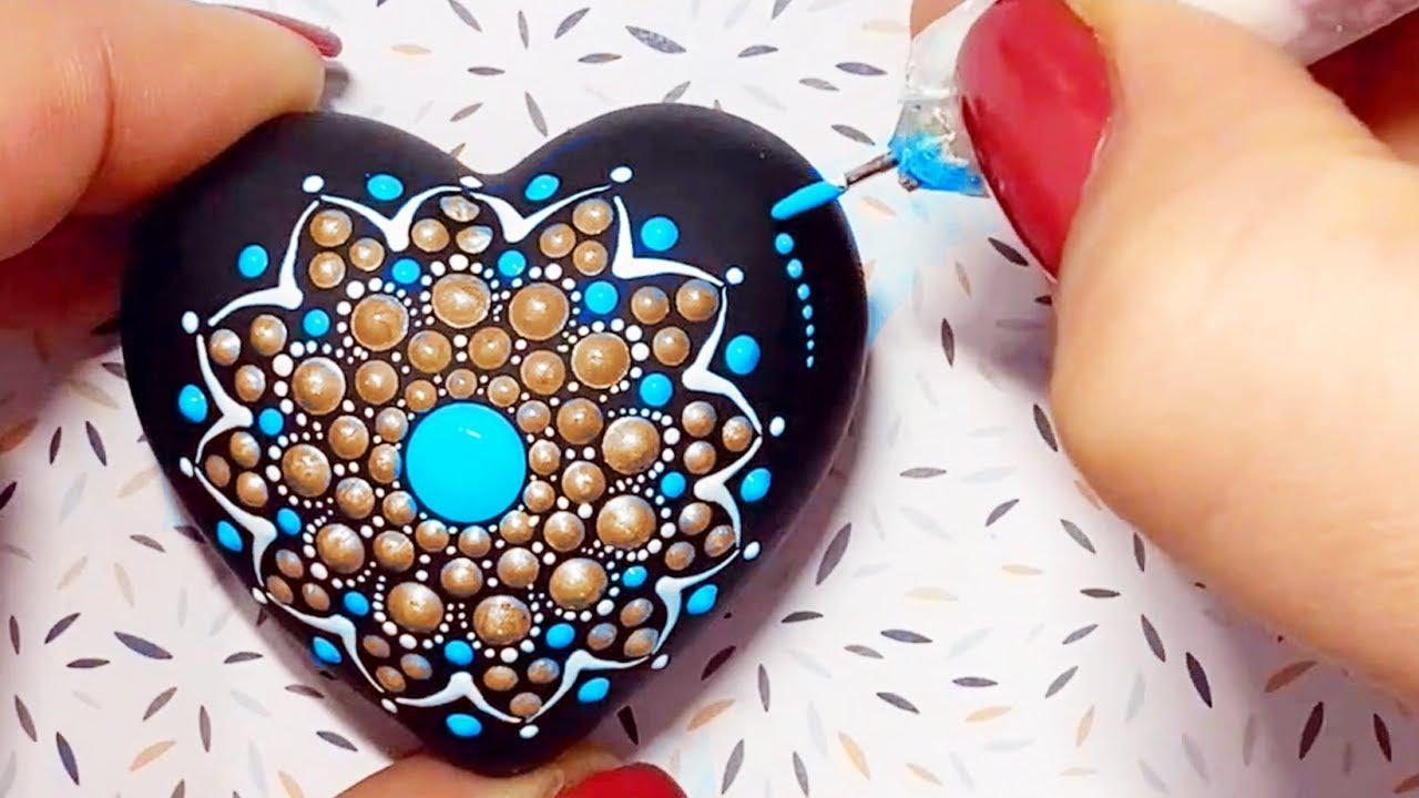 EASY Mandala Dot Art Rock Painting | Mandala dot painting compilation | Mandala Art