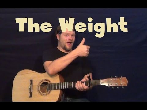 how to play the weight on guitar