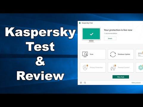Kaspersky FREE Antivirus Test & Review 2019 - Antivirus Security Review