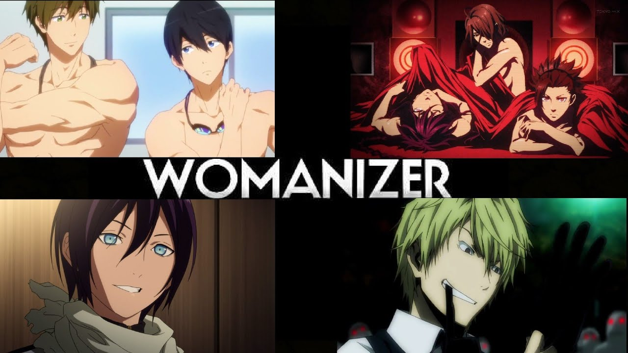Hottest anime guys amv womanizer
