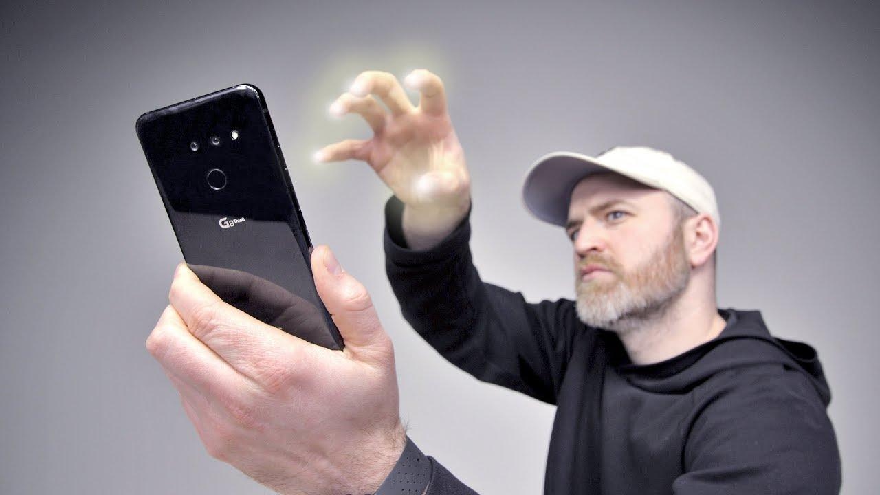 Steuern Sie Ihr Telefon, ohne es zu berühren + video