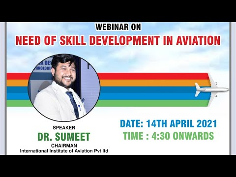 Need of skill development in Aviation