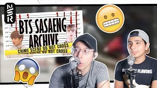 GUYS REACT TO BTS 'Sasaeng Archive'