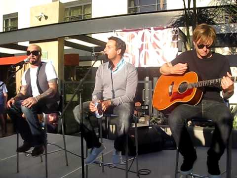 """Backstreet Boys at Lounge 6 - 103.7 Sophie San Diego -""""This is Us"""""""