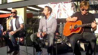 "Backstreet Boys at Lounge 6 - 103.7 Sophie San Diego -""This is Us"""
