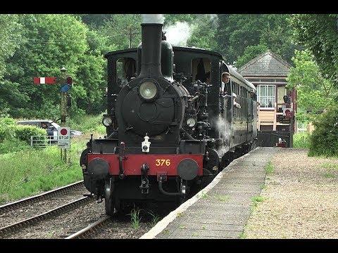 Kent & East Sussex Steam Railway    Tenterden - Bodiam