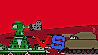 КВ-44 vs РАТТЕ МУТАНТ/Мультики про танки