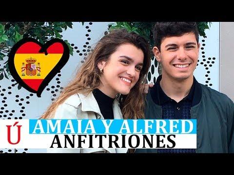 Amaia y Alfred grandes anfitriones de Europa en la ES Preparty Eurovision 2018 - Operación Triunfo