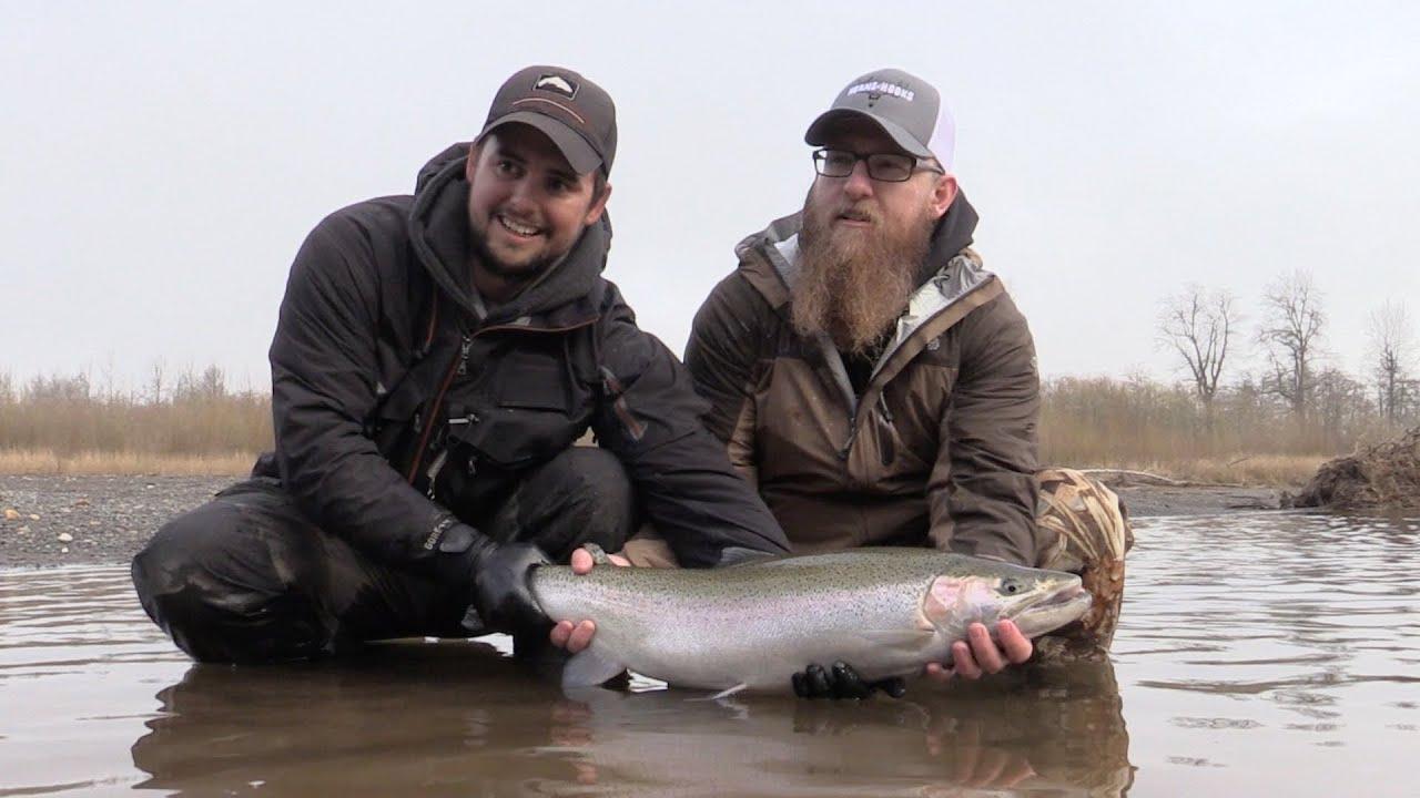 Steelhead fishing chehalis river tributarys with jake for Chehalis river fishing