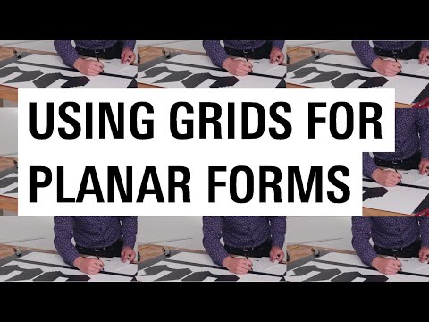 Using a Grid to Create a Planar Form with Chris Badger