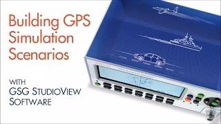Building GPS Simulation Scenarios with GSG StudioView Software screenshot 2