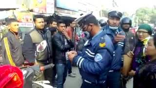 nepali police fight with girl