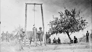 Rare Photographs of Executions During the American Civil War