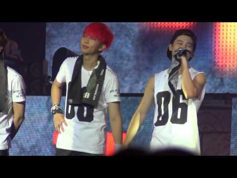 [HD][FANCAM][ENCORE] 141207 BTS - Road + Talk + Jump @ The Red Bullet in Manila