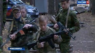 После уроков – в армию: военные игры среди молодежи прошли в Новосибирске