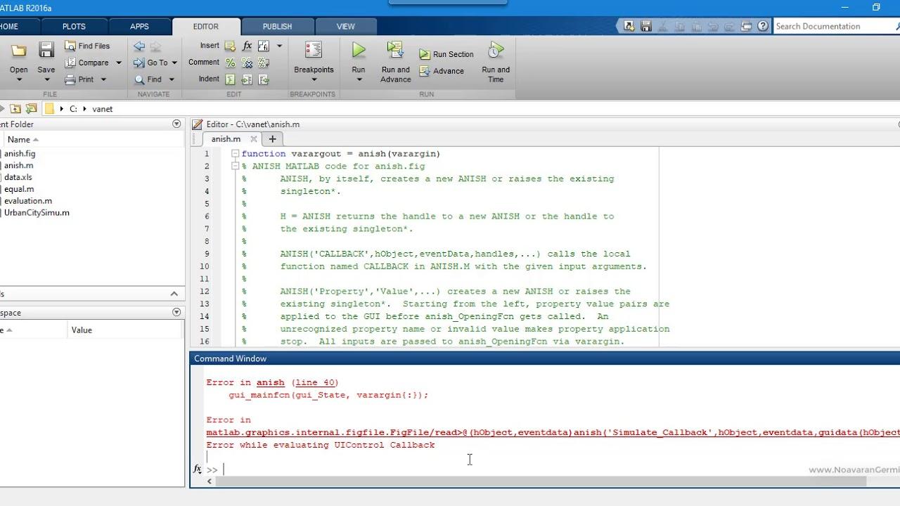 Aodv Matlab Code