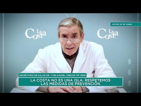 Covid-19: Parte diario 25/06/2020