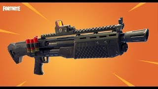 NEW SHOT GUN IN FORTNITE