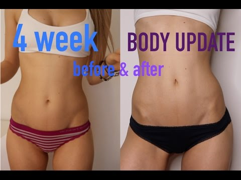 4 WEEK BODY UPDATE 💪 WORKOUT | EATING | DAILY LIFE 🐣🍓