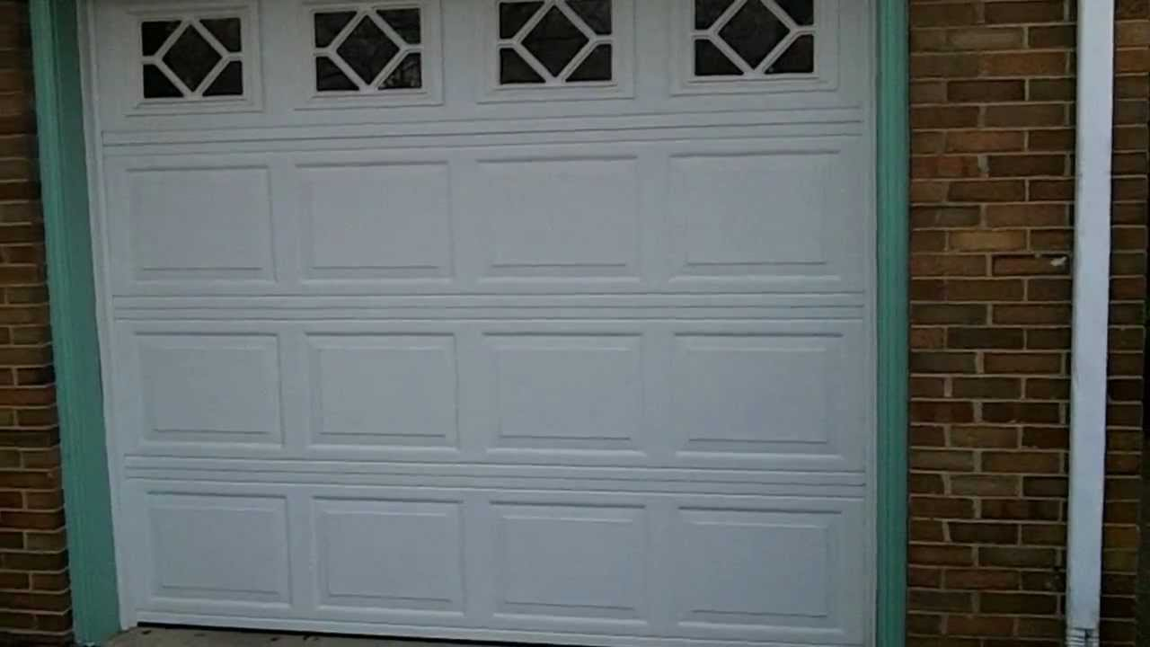 A wayne dalton 8300 discounted garage doors youtube for Wayne dalton garage doors