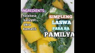 Cooking LASWA +MUKBANG