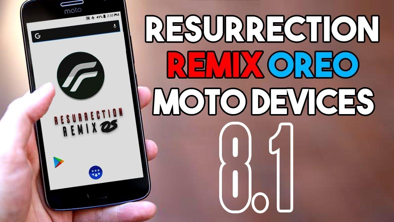 Install Resurrection Remix Oreo On Moto G5s Plus Android – Dibujos