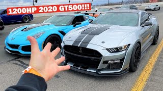 Racing My 1,000HP ZR1 and LOSING to a Mustang?!? *World's FASTEST 2020 GT500!*