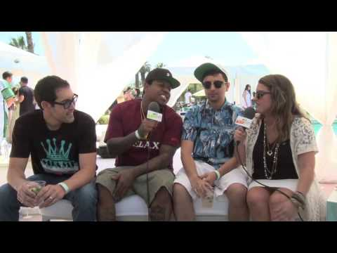 Lacoste Pool Party Interview - Ya Boy, Doc Hollywood, Louie