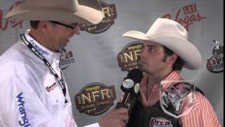 Jordan Spears wins bull riding in round 8