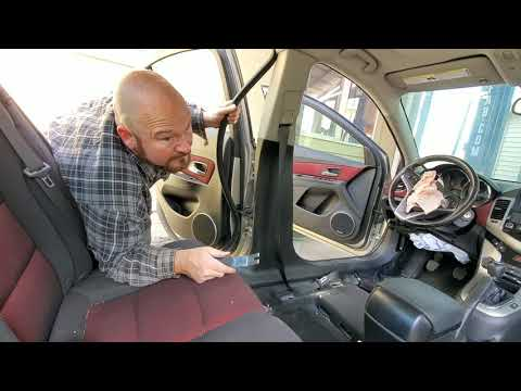 Chevrolet Chevy Cruze Seatbelt And Seat Removal