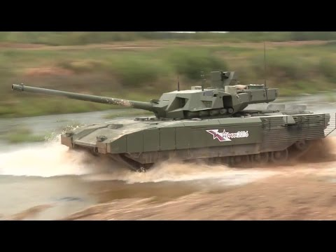 Russia MOD - T-14 Armata Main Battle Tank At Army 2016 [720p]