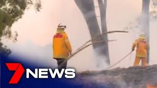 The Drought In Nsw Is Allowing Fires To Start Very Easily | 7news